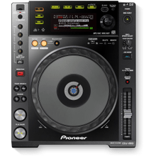 DJ multi player with disc drive (black)