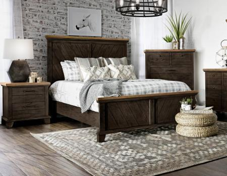 Bear Creek Queen Bed, Brown