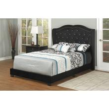 Black Velvet Full Bed