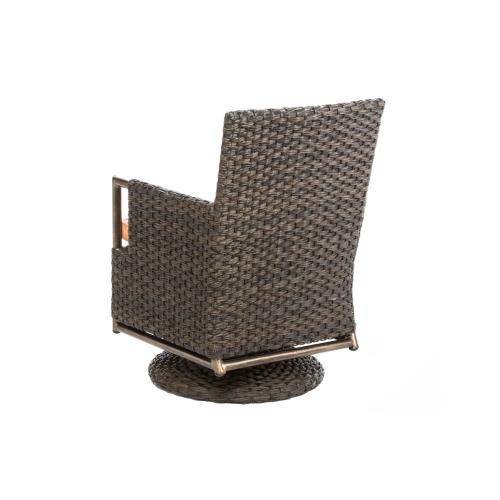 Gramercy Dining Swivel Arm Chair
