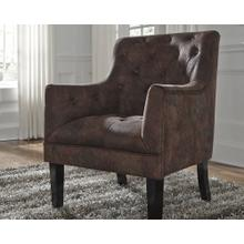 Drakelle Accent Chair Mahogany