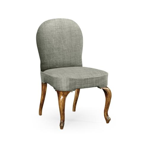 Gunby Grey Fruitwood Dining Side Chair