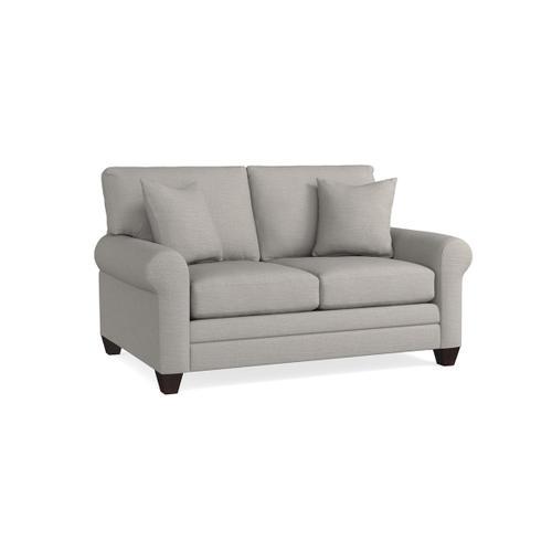 Bassett Furniture - Carolina Sock Arm Loveseat
