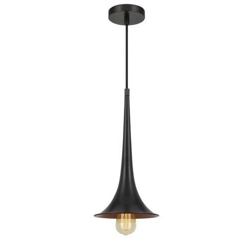 "Latsia 60W Metal Drop Pendant With 72"" Cord. (Edison Bulb Not included)"