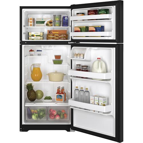 GE® ENERGY STAR® 15.5 Cu. Ft. Top-Freezer Refrigerator