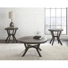 Alamo 3- Piece Set(Cocktail & 2 End Tables)