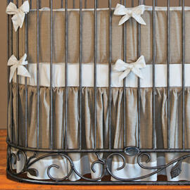 Willow Jadore Round Crib Bedding