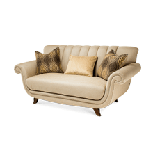 See Details - Channel Back Loveseat - Grp1/Opt1
