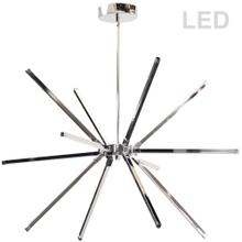 60w Chandelier PC W/ Wh Acrylic Diffuser