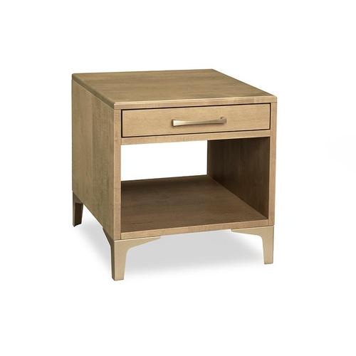 Handstone - Laguna End Table with Drawer