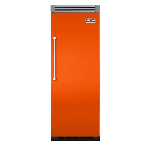 """Viking - Pumpkin 30"""" Quiet Cool™ All Refrigerator - VIRB Tru-Flush™ (Right Hinge Door)"""