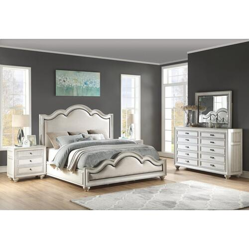 Harmony Queen Upholstered Bed