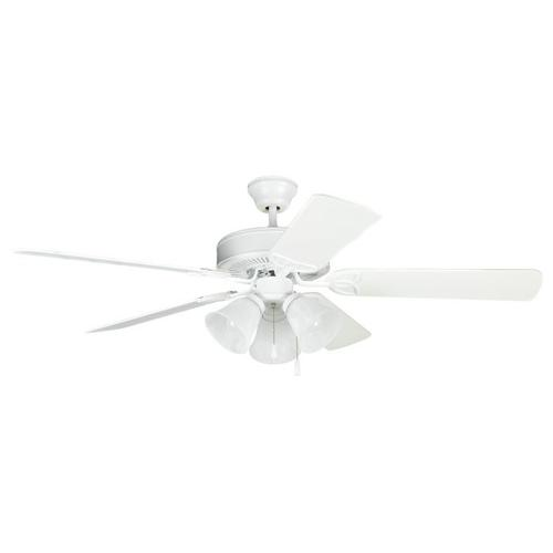 """BLD52MWW5C3 - 52"""" Ceiling Fan with Blades and Light Kit"""