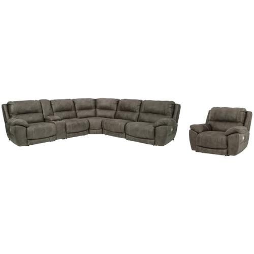 Ashley - 6-piece Sectional With Recliner