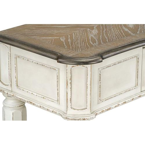 Gallery - Stevenson Manor Console Table, Distressed White