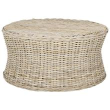 See Details - Ruxton Cocktail Ottoman - Natural Unfinished