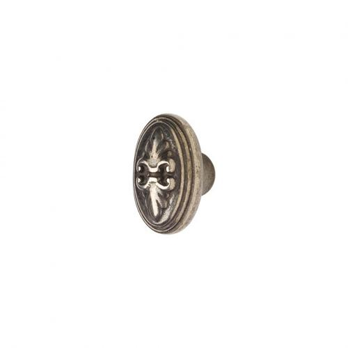 Fleur de Lis Knob - CK234 White Bronze Light