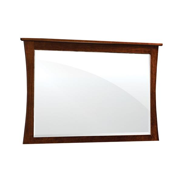 Garrett Mule Chest Mirror, Cherry