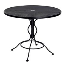 "Mesh Top 36"" Round Bistro Umbrella Table"