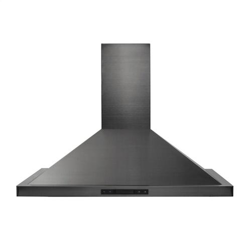 ZLINE 48 in. 760 CFM Wall Mount Range Hood in Black Stainless Steel (BSKB-48)