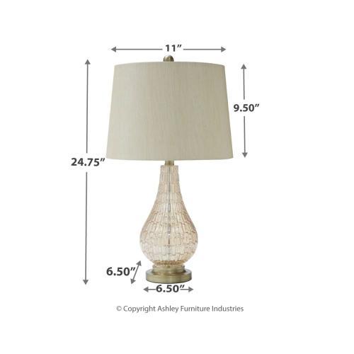 Signature Design By Ashley - Latoya Table Lamp