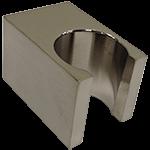 F902-24BN SQU Handshower Holder Brushed Nickel Product Image