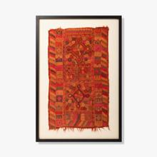 0321330060 Vintage Rug Fragment Wall Art