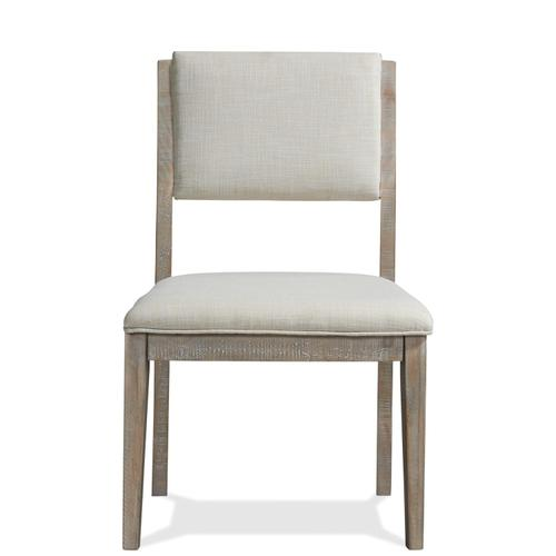 Riverside - Intrigue - Upholstered Side Chair - Hazelwood Finish