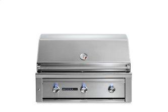 """36"""" Sedona by Lynx Built In Grill with 2 Stainless Steel Burners and ProSear Burner, LP"""
