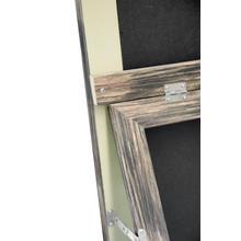 See Details - Farmhouse Standing Floor Mirror, Antique Black