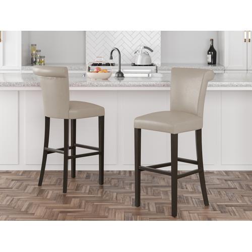 "Emerald Home Furnishings - 30"" Upholstered Bar Stool"