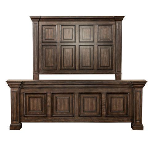 Liberty Furniture Industries - King California Panel Bed