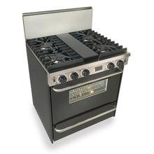 """View Product - 30"""" All Gas, Convect, Sealed Burners, Black"""