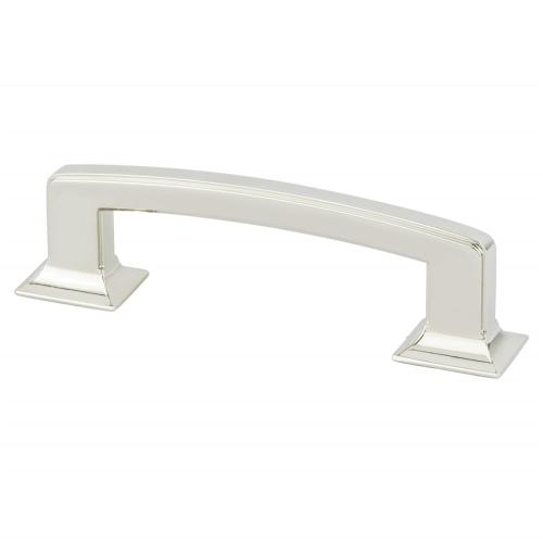 Designers Group Ten 96mm CC Polished Nickel Hearthstone Pull