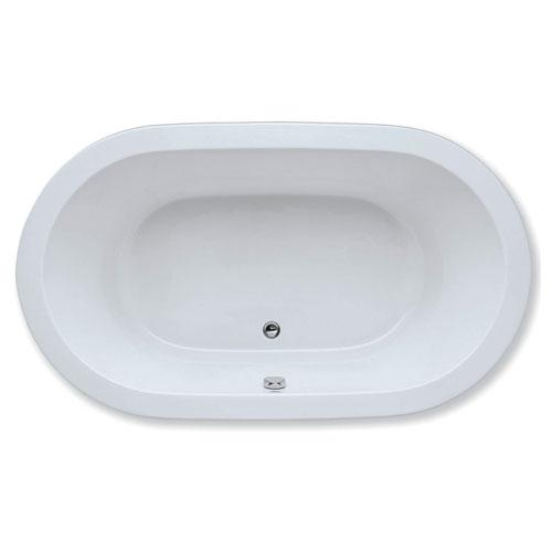 "Easy-Clean High Gloss Acrylic Surface, Oval, AirMasseur® - Whirlpool Bathtub, Signature Package, 36"" X 72"""