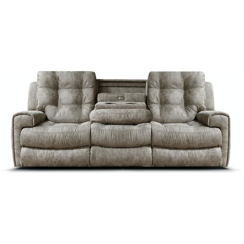 England Furniture - EZ19011 EZ1900 Double Reclining Sofa with Drop Down Tray