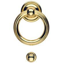 Door knocker - Solid Brass in MB (MaxBrass® PVD Plated)
