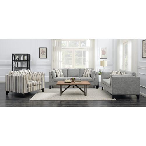 Elsbury Accent Chair, Gray U3446-02-13a