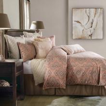 See Details - Sedona Comforter Set, Pale Sienna - Super King