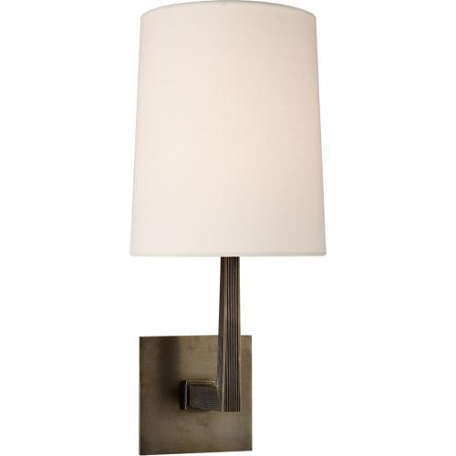 Visual Comfort BBL2082BZ-L Barbara Barry Ojai 1 Light 7 inch Bronze Sconce Wall Light, Medium