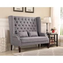Loveseat Chair Grey