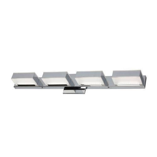 20w LED Wall Vanity, Polished Chrome Finish
