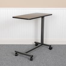 Adjustable Overbed Table with Wheels for Home and Hospital