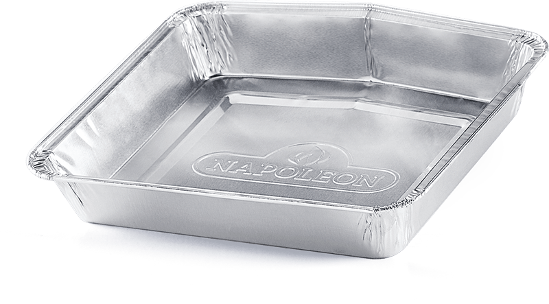 Napoleon BBQDisposable Aluminum Grease Trays For Travelq Series (Pack Of 5)