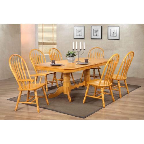 Comfort Back Dining Chair - Light Oak (Set of 2)