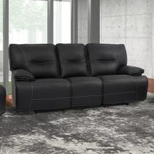 Spartacus Black Power Reclining Sofa
