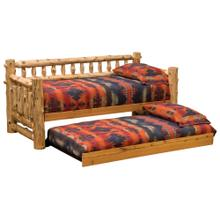 Daybed - Natural Cedar - With Trundle