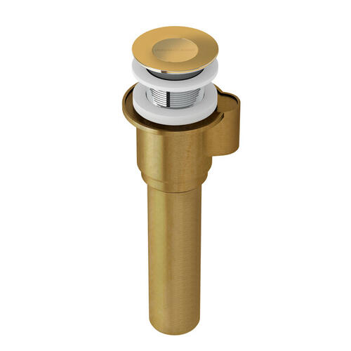IntelliDrain™ Click Clack for sub floor installation - Unlacquered Brass
