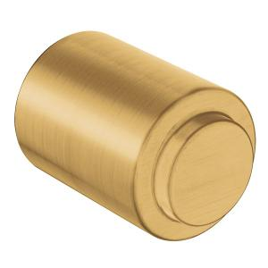 Iso brushed gold drawer knob Product Image