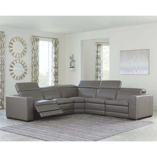Texline 5-piece Power Reclining Sectional